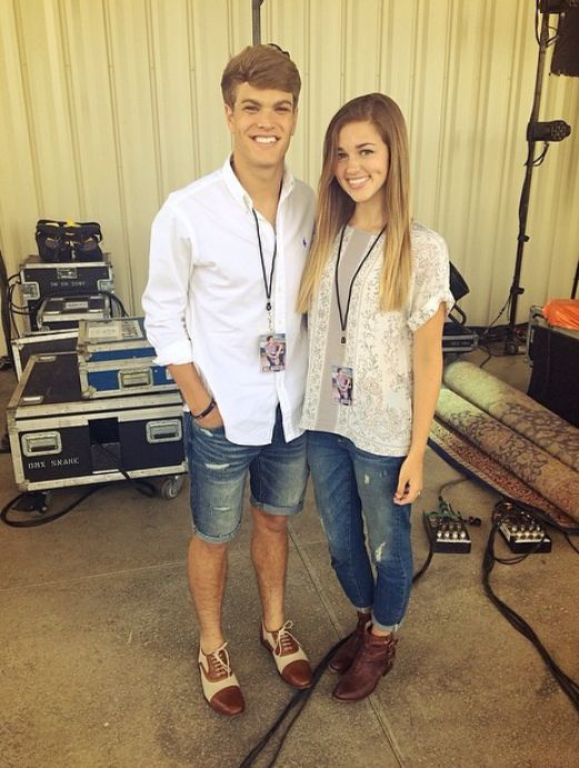 Sadie Robertson And Blake Coward 135 best images about ...