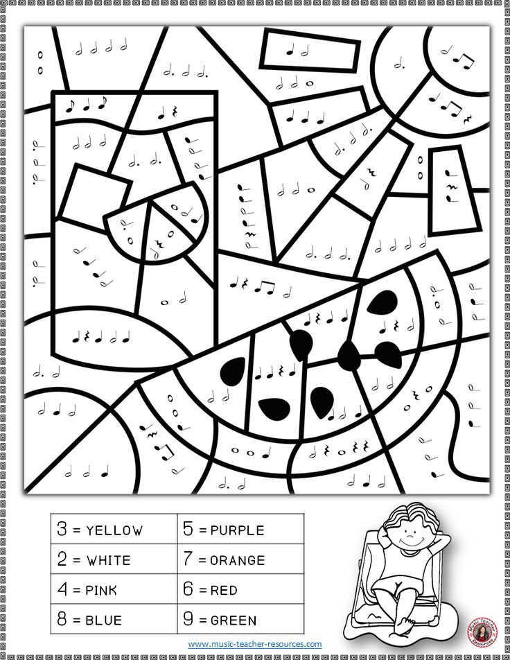 90 best music dessin images on pinterest music class for Music theory coloring pages