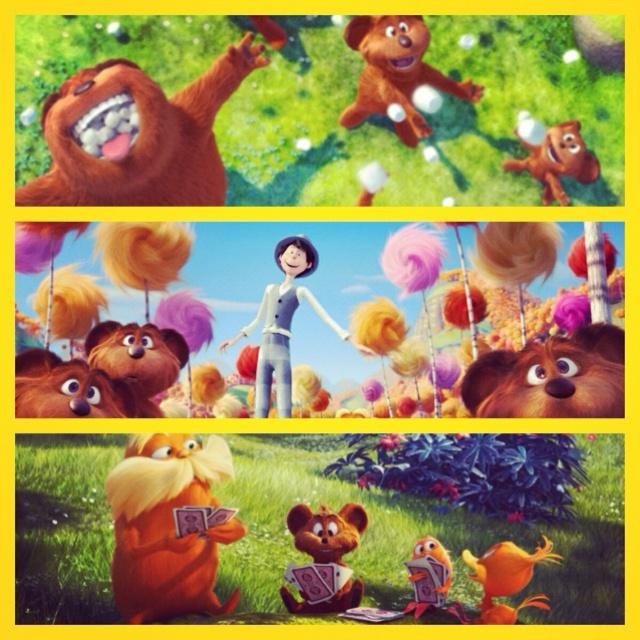 Sucha cute movie - The Lorax!