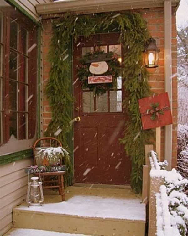 101 Best Colonial Christmas Homes Outdoors Images On