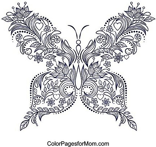 ideas about free adult coloring pages on pinterest adult with butterfly color pages
