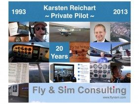 20 Years Private Pilot Licence Aeroplane (PPL-A)
