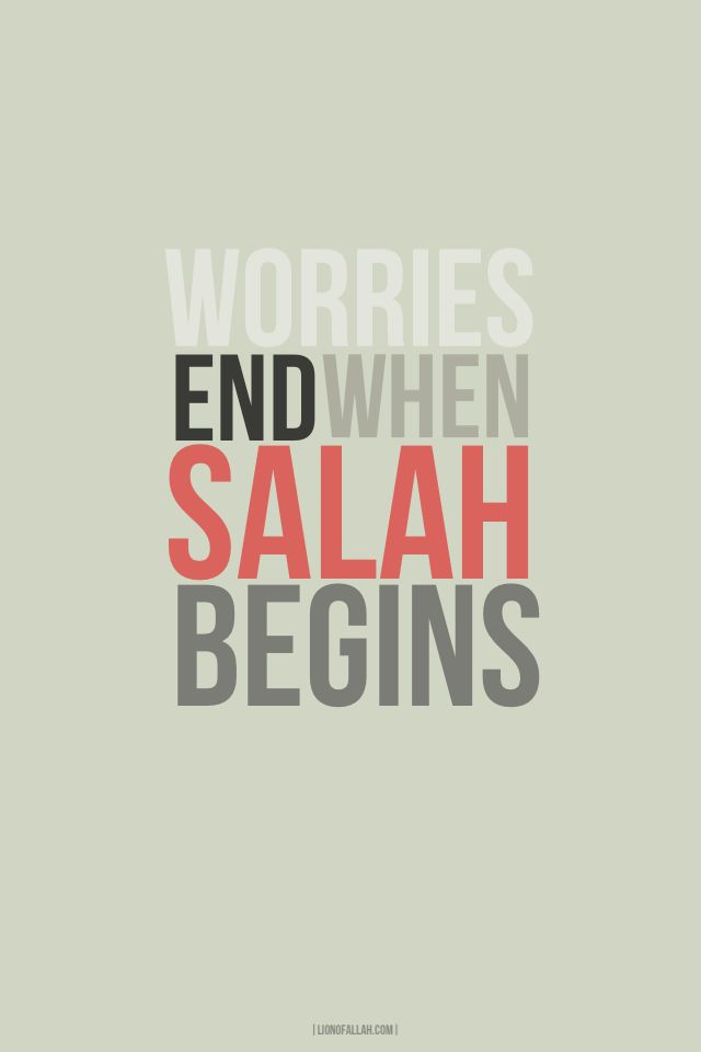 lionofallah:  Salah is an amazing exchange where you hand over your Worries to Allah (SWT) and Allah (SWT) hands over His Blessings to you. - www.lionofAllah.com