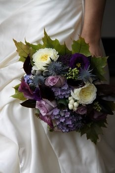 FOR JOCELYN- OMG!!! love these bouquets! amazing veriety of texture!Wedding, Flowers, Purple