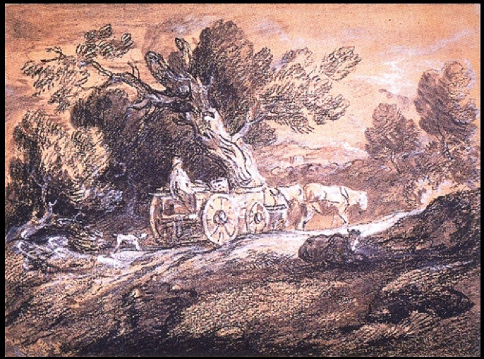 Thomas Gainsborough - Rural Scene (1780)