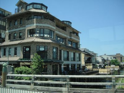 京都、三条大橋のスターバックス KYOTO