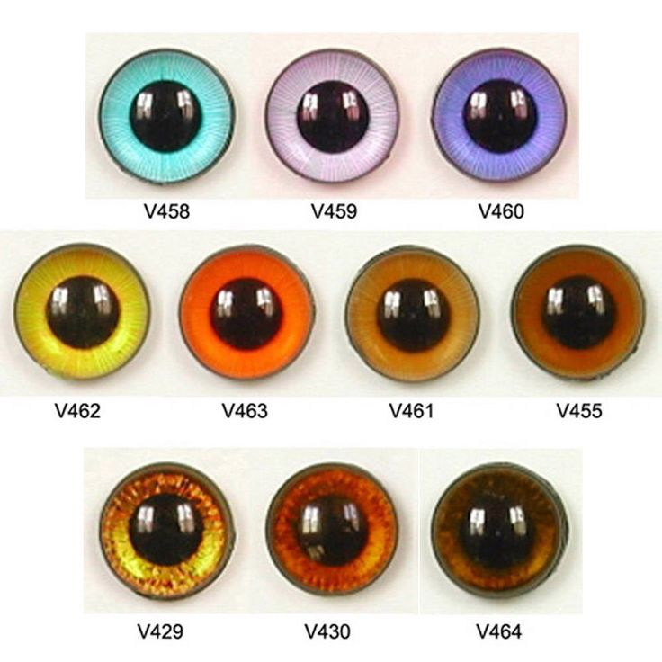 1 Pair 10mm Article V Plastic Safety Eyes Available in 10 Colours Round Pupils Teddy Bear Doll Puppet Plush Toy Stuffed Animal Plushie Craft by ShamrockRose on Etsy