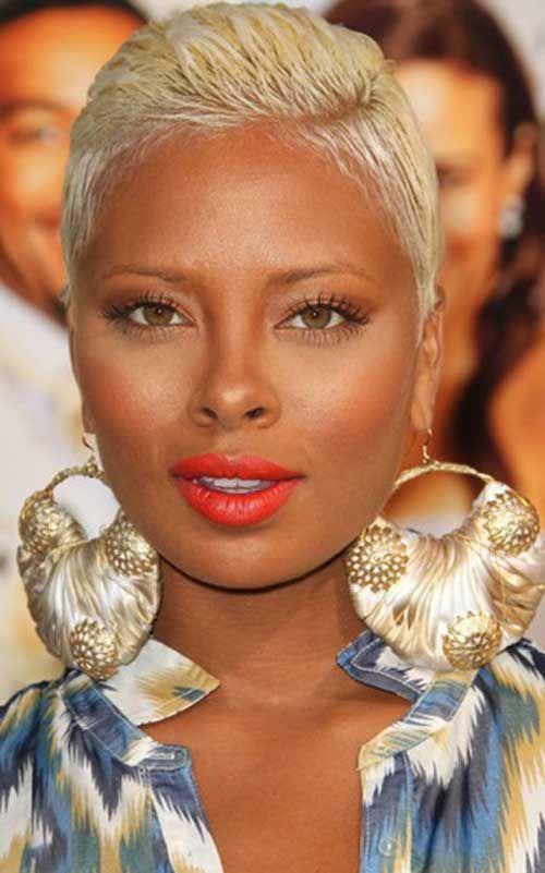 20 beliebte kurze Frisuren für schwarze Frauen #…