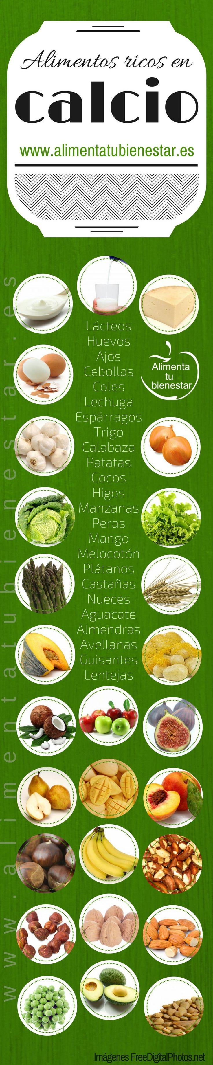 Calcio, encuentra en los alimentos que más contienen calcio y combate la osteoporosis. con alimentatubienestar.es #Calcio #AlimentacionSaludable #Osteoporosis