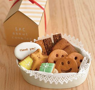 [SAC about cookies] ありがとうクッキーセット|グルメ・ギフトをお取り寄せ【婦人画報のおかいもの】