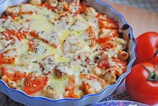 Самые вкусные рецепты: Куриное филе запеченное с овощами и сыром