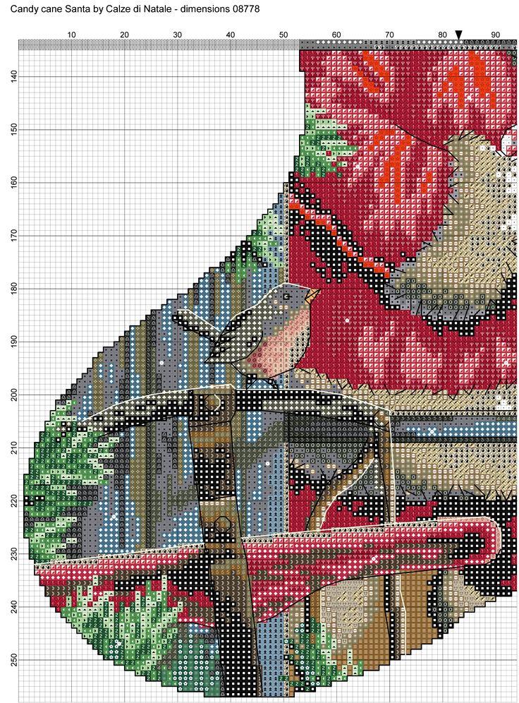 Candy cane Santa 3