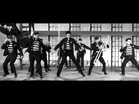 JAILHOUSE ROCK was the title track of the 1957 film and was written by Jerry Leiber (above right) and Mike Stoller (above left), who also composed Hound Dog. The song was a UK No1 for three weeks. The Purple Gang mentioned in the lyrics was a real criminal mob.