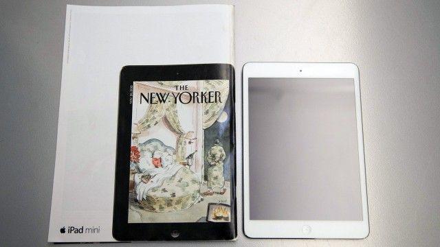 Smarts smarts smarts... New Yorker iPad Mini ad