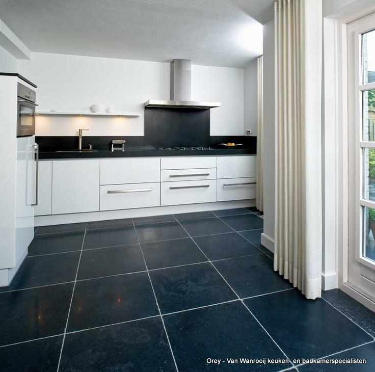 Zwart Witte Tegels Keuken : Witte Keuken Welke Tegels : witte keuken landelijk zwart wit tegels