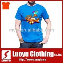 2014 Plain 100% Cotton graphic tee wholesale  best buy follow this link http://shopingayo.space