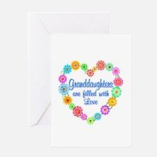 Granddaughter Love Greeting Card for