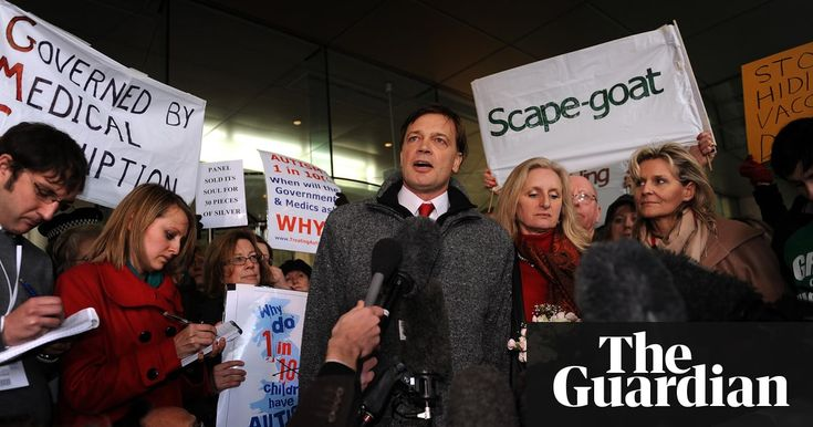 Disgraced anti-vaxxer Andrew Wakefield aims to advance his agenda in Texas election