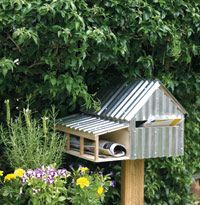 Build a Letter Box or modify for bird house