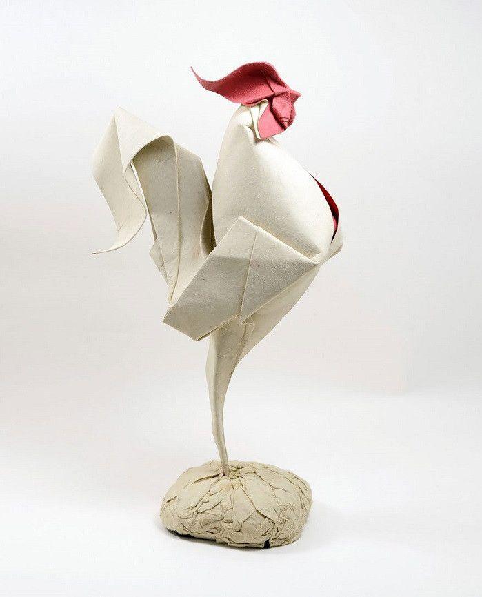 """これが折り紙だと!?柔らかな曲線までをも完璧に表現する""""折り紙アート""""が凄い!"""