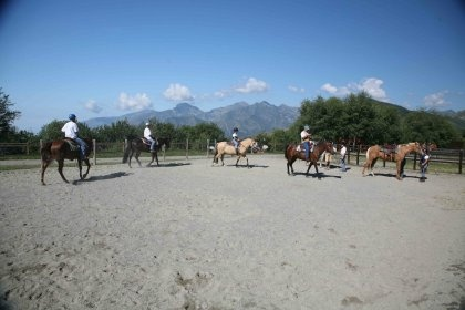 Horse riding in Bielmonte, Oasi Zegna, #Italy.