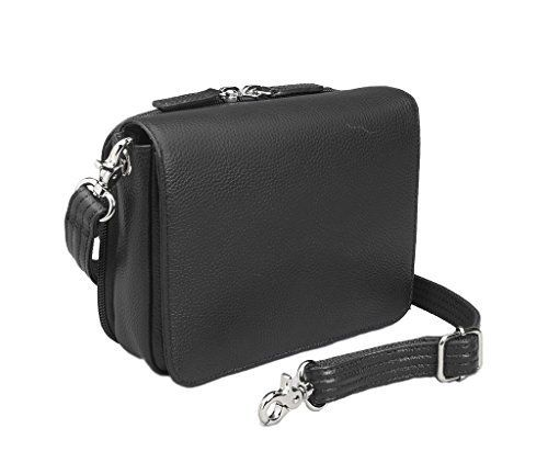 New Trending Tote Bags: Concealed Carry Purse - Crossbody Organizer by Gun Toten Mamas (Black Lambskin). Concealed Carry Purse – Crossbody Organizer by Gun Tote'n Mamas (Black Lambskin)  Special Offer: $110.95  388 Reviews Carry light, but carry concealed with this all new organizer purse by Gun Tote'n Mama. Product Summary: This cross body organizer purse by Gun...