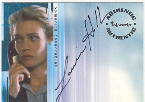 X Files Seasons 4 &5 Autograph Card A4 Laurie Holden As Marita Covarrubias Inkworks http://www.amazon.ca/dp/B00SYFDD7K/ref=cm_sw_r_pi_dp_BKbVwb1CHPV4Y