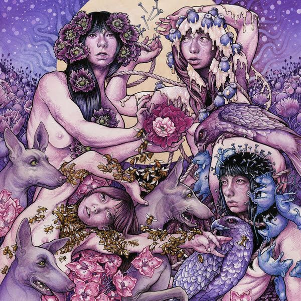 "John Dyer Baizley // Baroness ""Purple"" album cover art. 2015"