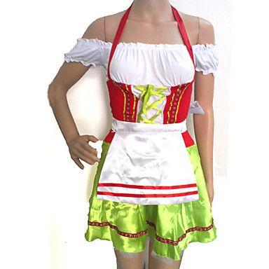 Oktoberfest Querida cosplay costume Verde Moza de Cerveza Maid mujeres uniformes 2015 – €23.74
