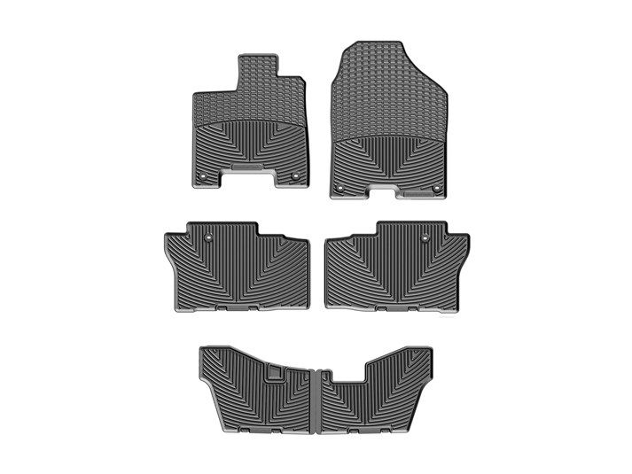 honda pilot all weather mats 2014