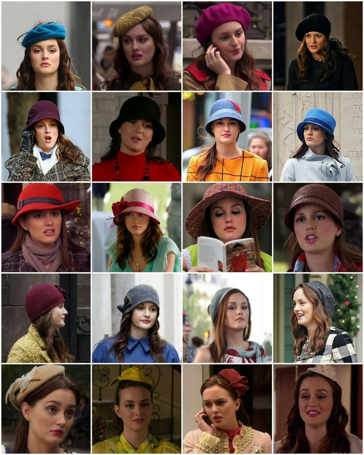 Blair Waldorf and her hats and headpieces