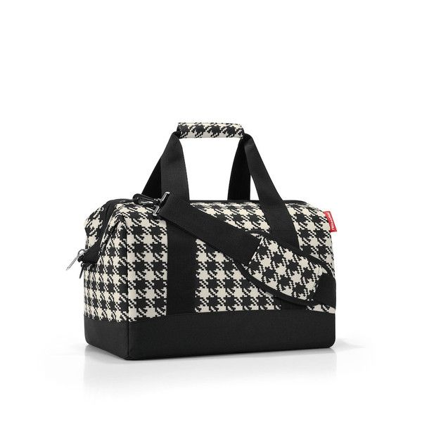 Reisenthel Allrounder M Travel Bag: Fifties Black | $49.95