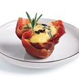 Great brunch finger food i make alot.. quiche in prosciutto cups