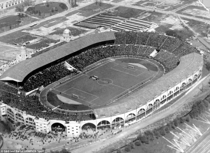 When it comes to the truly iconic images in the history of English football, Wembley's Twin Towers are right up there. Here is a picture of the stadium before the 1931 FA Cup final, where West Bromwich Albion beat Midlands rivals Birmingham 2-1