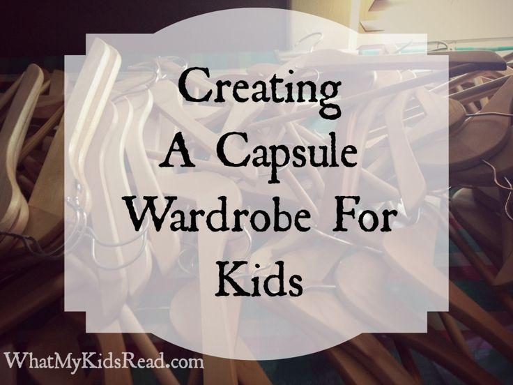 What My Kids Read: Capsule Wardrobe for Kids