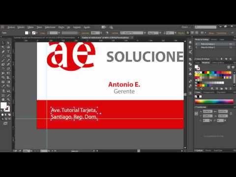 1-Tutorial Adobe Illustrator Tarjeta de Presentacion - YouTube