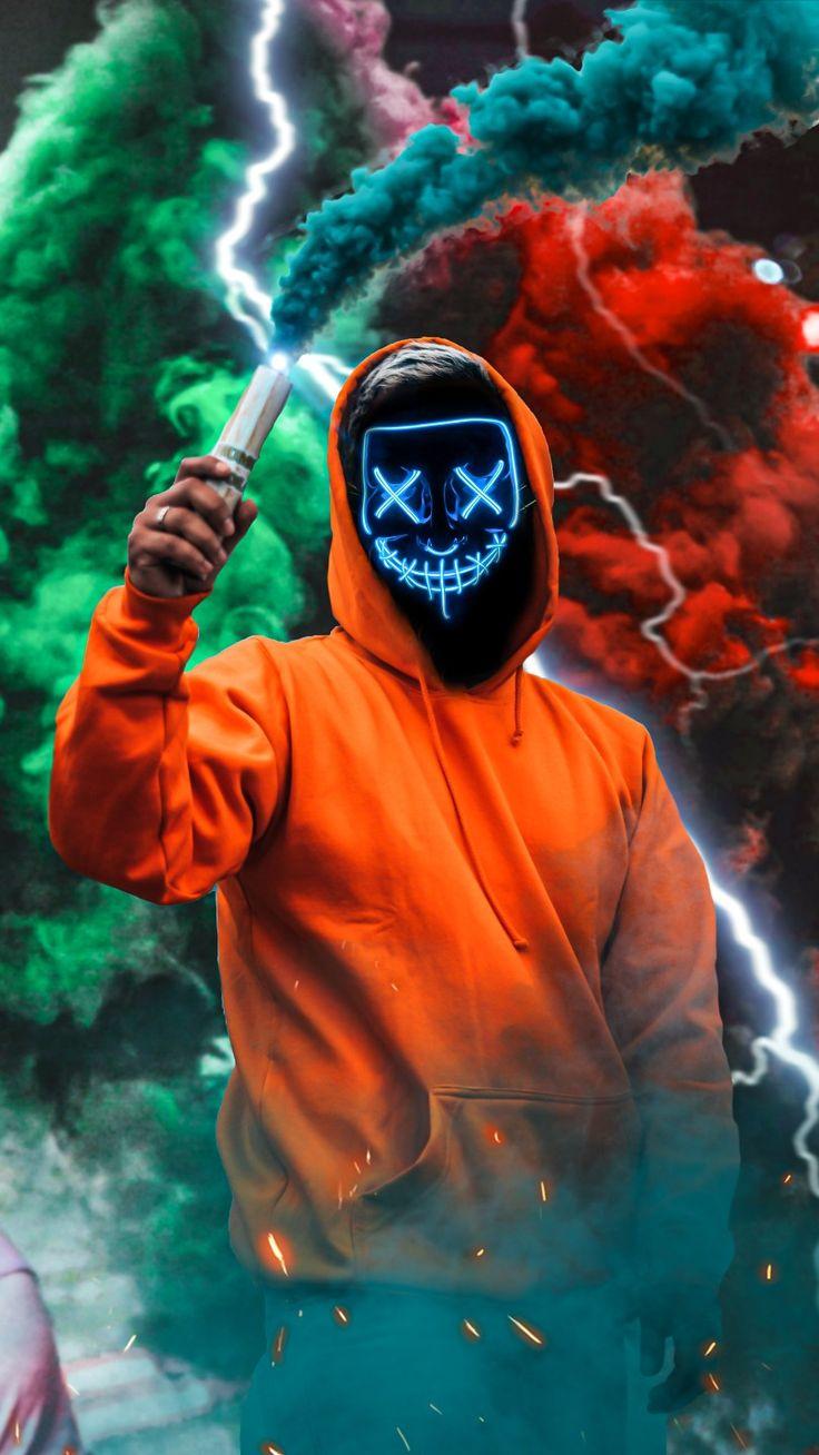 Neon mask hd wallpaper | Smoke wallpaper, Hipster ...