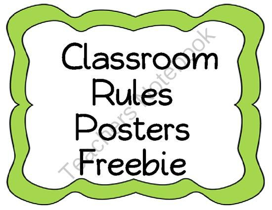 graphic relating to Free Printable Classroom Rules Poster referred to as Printable Clroom Guidelines Poster: Convention Reality: Extra System