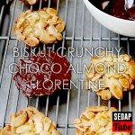 Biskut Crunchy Choco Almond Florentine