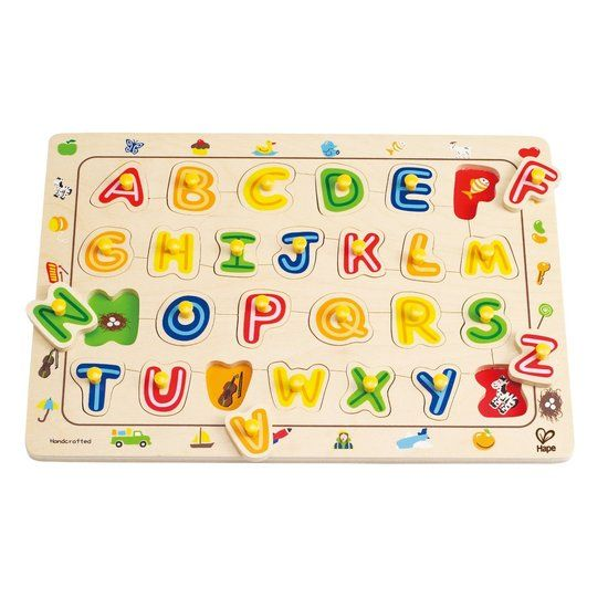 $18.39 on sale (normally $22.99) + Click-and-collect  Hape Puzzle ABC Matching