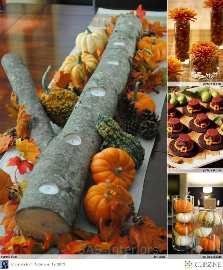 Thanksgiving Food, Crafts & Decor