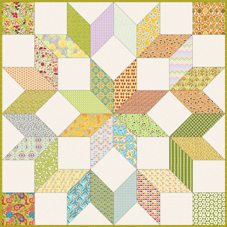207 best One Block Quilts images on Pinterest | Charity, Colors ... : one block quilt patterns - Adamdwight.com