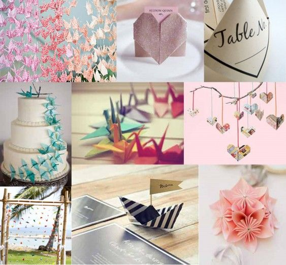 24 best origami centerpiece images on Pinterest | Diy ... - photo#12