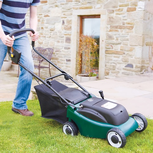 Electric Rechargeable Battery Cordless Lawnmower 24V
