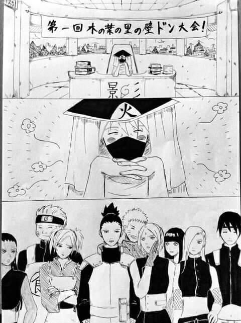 I could have sworn Shikamaru was stroking sakura's face with the back of his hand
