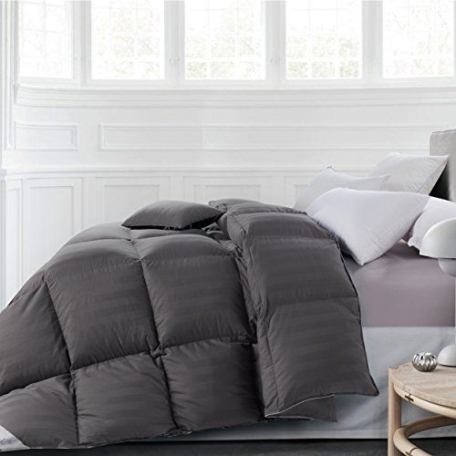 Rosecose Luxurious All Seasons Goose Down Comforter King Size