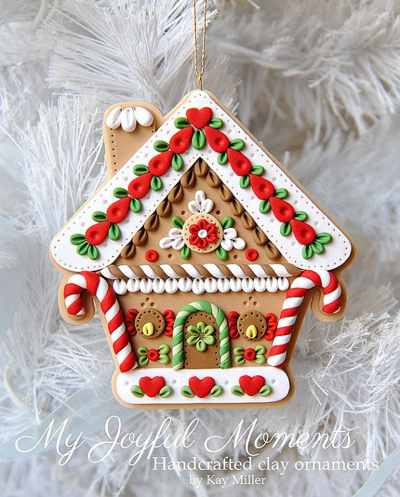 Polymer Clay Christmas Ornament: 25+ Best Ideas About Polymer Clay Ornaments On Pinterest