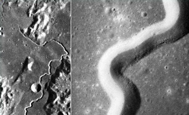 Skywatchers trovano gallerie misteriose sulla superficie della Luna. Si tratta di basi aliene?
