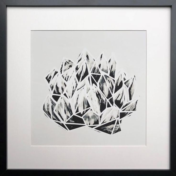 Modern and Graphic succulent prints by Natalia Heiser. Available through Seattle Art Source