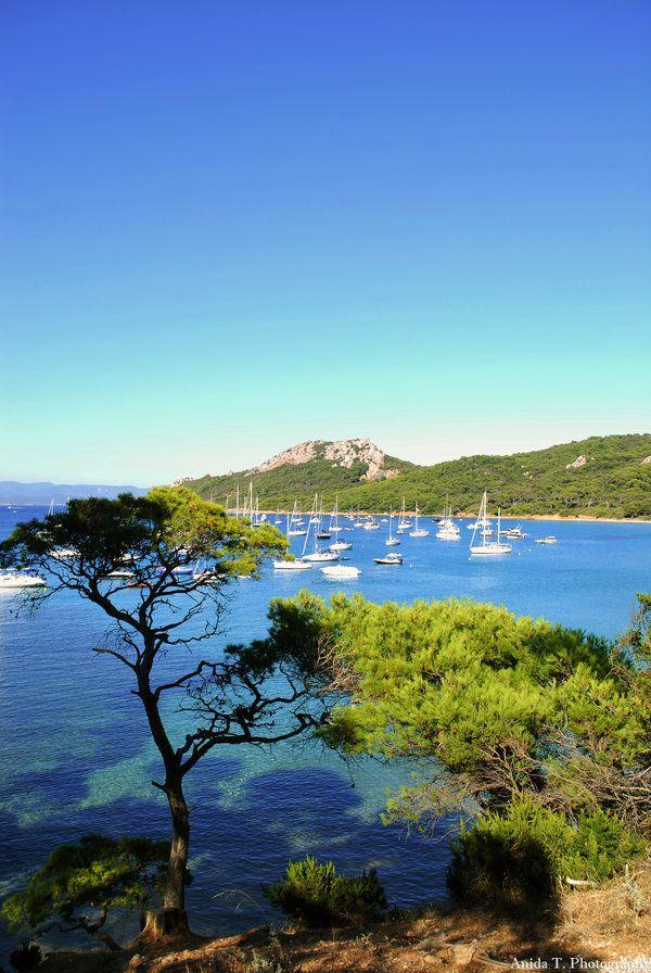 #Porquerolles, Îles d'Hyères
